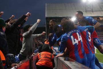 El Crystal Palace empató al final contra el Tottenham