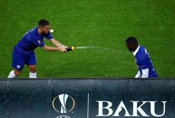 Eden Hazard demostró la distancia que hubo