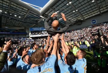 El Manchester City ganó finalmente en Brighton la Premier League 2018-2019