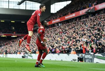 La euforia del Liverpool