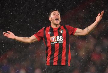 El Bournemouth sólo encajó un disparo a puerta contra el Burnley, pero perdió por él