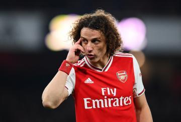 David Luiz y la cabeza