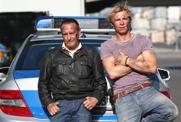 Erdogan Atalay y Daniel Roesner, los actuales protagonistas de la legendaria serie Alerta Cobra