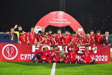 El Istiklol, el nuevo supercampeón de Tayikistán
