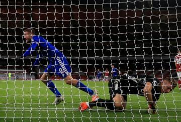 Jamie Vardy sigue marcando diferencias para el Leicester
