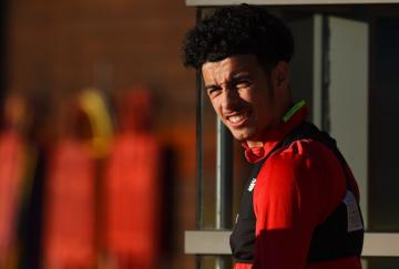 Curtis Jones. / Liverpool FC