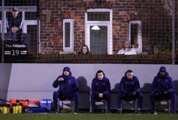 Jose Mourinho y su cuerpo técnico