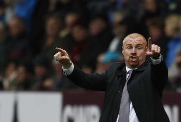 Sean Dyche. / Burnley FC
