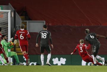 Liverpool y Manchester United no pudieron romper su empate