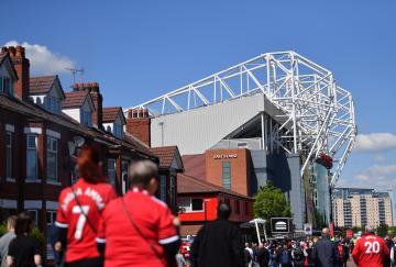 Old Trafford antes de un partido