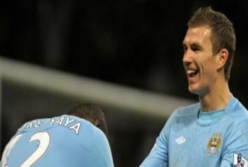 Dzeko marcó el gol de la victoria