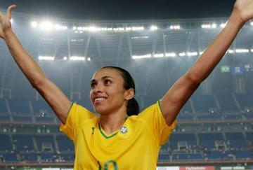 La brasileña Marta será la gran estrella de la Copa del Mundo