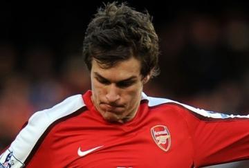 Ramsey marcó en el minuto 90
