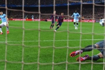 Agüero erró un penalti