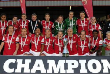 Arsenal se proclamó campeón de la pasada WSL