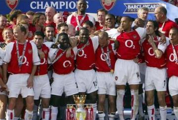 Los Invencibles que conquistaron la Premier 2003-04
