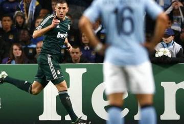 Benzema adelantó al Real Madrid