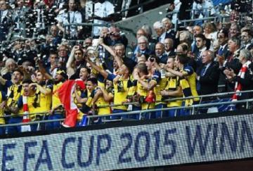 Los Gunners se proclamaron campeones