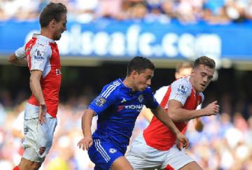 Hazard, hizo el segundo de los Blues (foto de @ChelseaFC_sp)