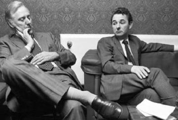 Peter Taylor y Brian Clough