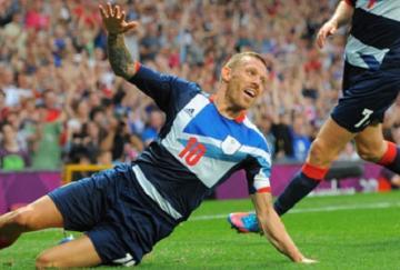 Bellamy marcó el gol británico
