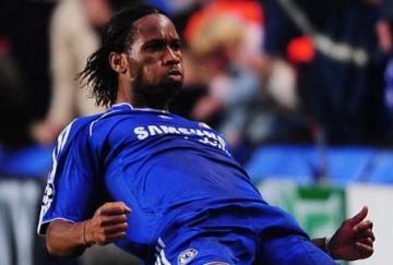 Drogba marcó el tanto del Chelsea