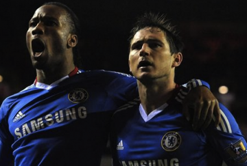 Drogba y Lampard serán titulares en el Camp Nou