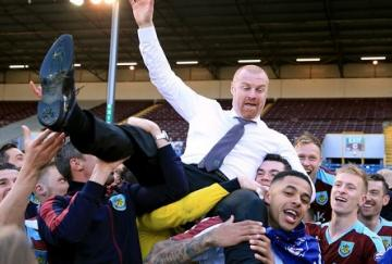 Sean Dyche condujo al Burnley al ascenso