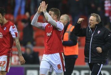 El Rotherham remontó un 0-3 al Derby County