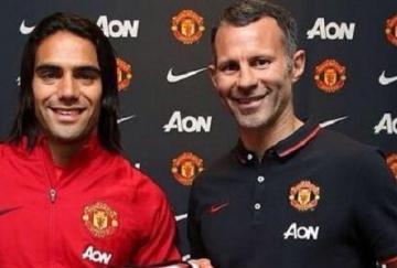 Falcao cerró su cesión al Manchester United