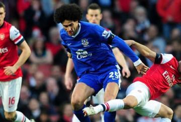 Arsenal y Everton disputaron un partido de poder a poder