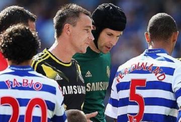 Ferdinand evitó darle la mano a Terry