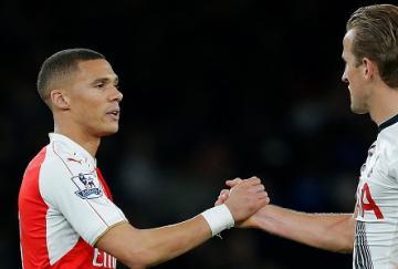 Gibbs y Kane, goleadores en el Emirates