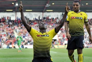 Troy Deeney y Odion Ighalo