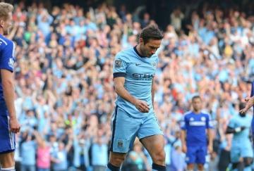 Frank Lampard empató para el City
