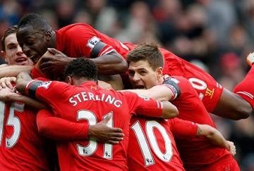 El Liverpool está a un paso de la gloria
