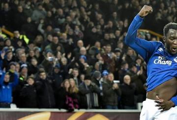 Lukaku marcó cinco goles al Young Boys en la eliminatoria