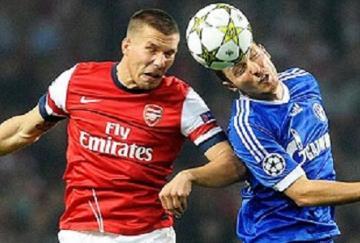 Podolski no tuvo su mejor noche ante sus compatriotas