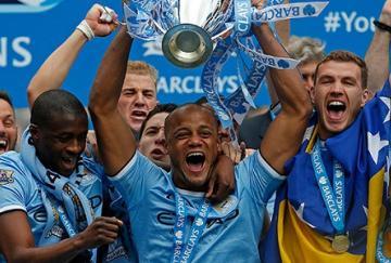 El Manchester City fue el último campeón de Manchester