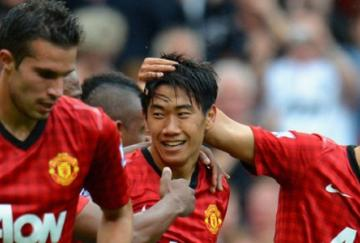 Kagawa, van Persie y Rafael fueron los goleadores