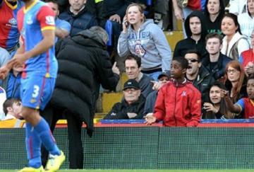 Mourinho regañó a un recogepelotas rival por perder tiempo