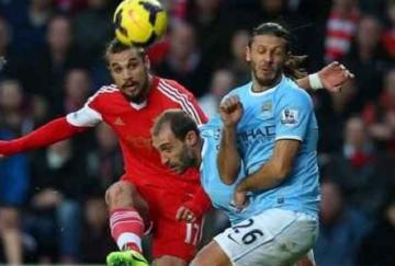 Pablo Osvaldo empató para los Saints