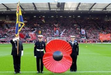 Todo el mes se ha celebrado el día de los veteranos en los campos ingleses