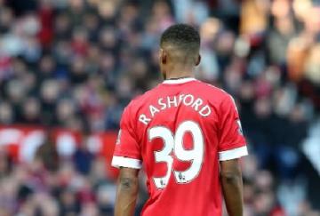 Marcus Rashford decidió el derbi de Manchester