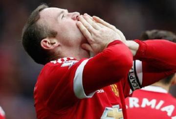 Wayne Rooney volvió a ser el delantero del United