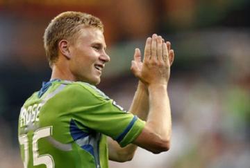 El inglés Andy Rose fue titular con Seattle