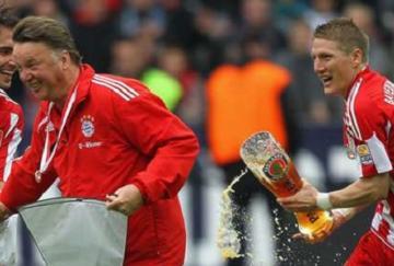 Schwensteiger y Van Gaal