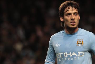 David Silva, líder del Manchester City