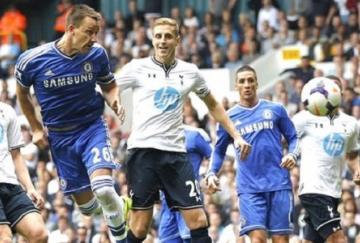 Terry empató para el Chelsea