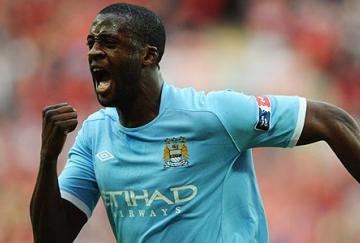 Yaya Touré fue el mejor del partido